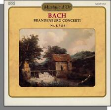 Musique d'Or 1012 -- Bach: Brandenburg Concertos Nos. 1, 3, and 4 - New CD!