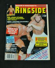 RINGSIDE MAGAZINE - JANUARY 1985 - JOHN STUDD COVER! (F-VF)