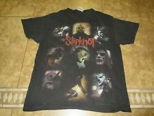 VTG RARE HANES SLIPKNOT T-SHIRT L MEN ROCK POP CONCERT TOUR 90s USA