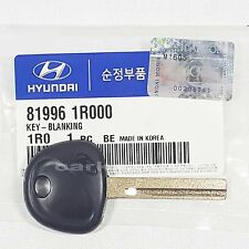 Genuine 819961R000 Uncut Blank Key For HYUNDAI ACCENT, VERNA, SOLARIS 2012-2013