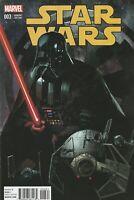 STAR WARS #3 (1:25) Leinil Yu Variant 1st Print Marvel 2015 Vader Solo Fett