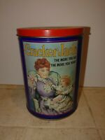 Vintage Cracker Jack 1992 Tin Limited Edition with Lid
