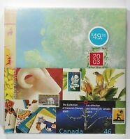 Canada Post Office Yearbook Annual Collection 2003 Fresh in original seal wrap