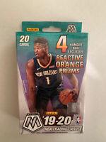 NBA 19-20 Panini Mosaic HANGER BOX Zion Ja Zion ? Genesis Reactive Orange Sealed