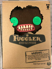Fuggler Count Fuggula Brown Bat Wings Green Button Eyes - Ugly Monster Plush