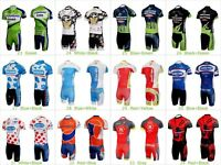 Men's Cycling Bike Bicycle Team Clothing Jersey Kit Shirts Padded Shorts Outfits
