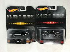 Hot Wheels Knight Rider K.I.T.T -K.A.R.R.Lot of 2.