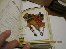 1967 NFL 16 press books Bound edition featuring New Orlean Saints