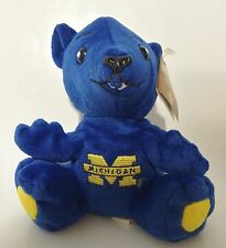 Michigan Wolverines University College Beanie Mascot Figure (rare)