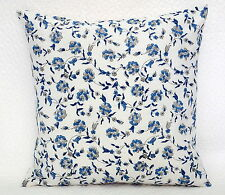 "Indian Hand Block Print Cotton Cushion Cover Floral Pillow Case 16"" Cushion Case"