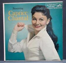 "CAPRICE CHANTAL ""s/t"" RCA Victor Mono LPM-1552 Female Jazz Vocal Calypso"