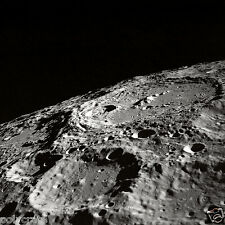 Photo Nasa - Apollo 10 - La Lune - Détails Cratères à la surface de la Lune