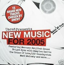 Uncut New for 2005 Josh Rouse Emmylou Mercury Rev + CD