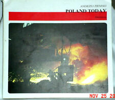POLAND TODAY 1986 ANDRZEJ ZIEMSKI GREAT PHOTOS PAPERBACK POLSKA INTERPRESS VG
