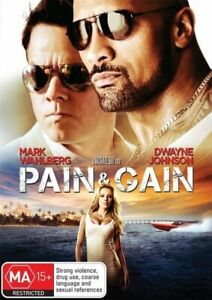PAIN & GAIN (DVD, 2012, R4) - Brand New Sealed -