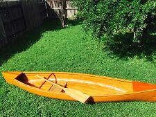 Cedar Strip Canoe Handmade 10ft Single Person