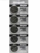 Lot of 5 PC ENERGIZER CR2032 WATCH BATTERIES 3V LITHIUM CR 2032 DL2032 BR2032