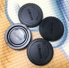 3 x Rear Lens Cap+ 1x Front body cap for Pentax Q mount lens Q7 Q10