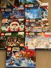 LEGO STAR WARS ADVENT CALENDARS  2012 2013 2015 2016 2017 2018  2019 BNIB