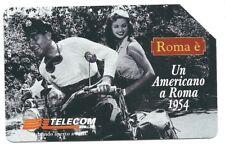 G 1081 C&C 3200 SCHEDA TELEFONICA USATA UN AMERICANO A ROMA