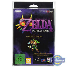 1 x BOX PROTECTOR 3DS Majora's Mask Special Edition 0.5mm Plastic Display Case