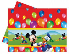 Mickey Mouse Plastic Tablecover 120cm X 180cm