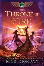 The Kane Chronicles: The Throne of Fire Bk. 2 by Rick Riordan (2011, Hardcover)