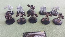 Lot of ten (10) Mechanithralls for Cryx Warmachine USED Privateer Press metal