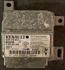 Calculateur AIRBAG RENAULT CLIO 2 0285001496 8200230857 AB8.X