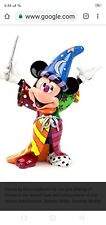 Official Romero Britto Disney Mickey Mouse Sorcerer Large Collectable Figurine