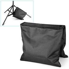 Counterbalance Light Stand Studio Photo Video Saddle Sandbag Sand Black Bag New