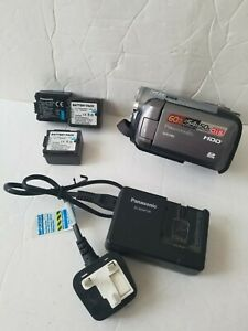 Panasonic SDR-H60 60GB HDD Camcorder with 3x Batteries & Charger *FULLY WORKING*