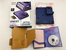 【Boxed】Nintendo GameCube Violet Gameboy Player & Startup Disc F/S Japan #0211A