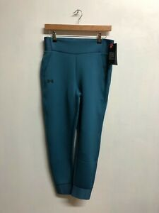 Under Armour Women's Trousers MOVE Pants With Zipped Pockets - Blue - New