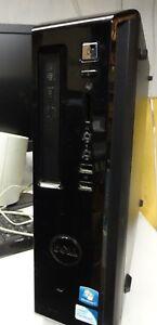 Tour Dell Vostro 260s Computer Desktop RAM 8Go Hard Drive 500Go Intel HD Graphic