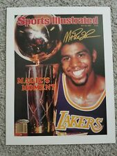 Magic Johnson Autographed Los Angeles Lakers Sports Illustrated Cover, UDA