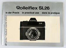 ROLLEIFLEX SL26 MANUAL