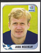 Merlin Football Sticker - UEFA Euro 1996 - No 95 - Scotland - John McGinlay
