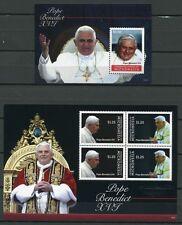 Stati Federati di Micronesia Micronesia 2012 Papa Benedetto XVI Pope Benedict religione post FRESCHI MNH