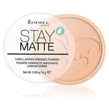 Rimmel Stay Matte duradero maquillaje compacto Silky beis 005 14g