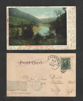 1906 CAMP ROSE ON RUSSIAN RIVER CALIFORNIA UDB UNDIVIDED BACK POSTCARD