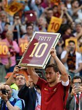POSTER FRANCESCO TOTTI A.S. AS ROMA 10 ROME SOCCER FOOTBALL CALCIO CAPITANO #59