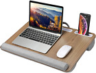 HUANUO Lap Desk - Fits up to 17 inches Laptop, Built in Wrist Pad for Notebook,
