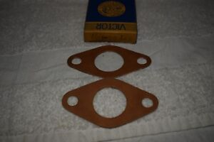 1958-1959 Ford Edsel V8 Water Pump Housing Gasket Pair 26442 Victor NEW