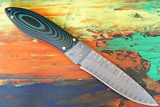 Puma TEC Gürtelmesser, 67-lagiger Damast, G10 Griffschalen Damaszenerbacken