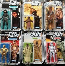 Star Wars The Black Series 40th Anniversary Wave 2 Set x 6 Tusken Jawa C3PO MOSC