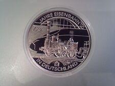 175 Jahre Eisenbahn In 10 Euro Gedenkmünzen Der Brd Günstig Kaufen