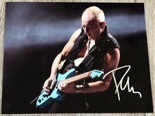 Phil Collen Signed Autograph Def Leppard 8x10 Photo D w/Exact Proof