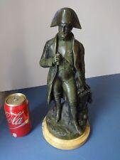 "Excellent Antique French Bronze Napoleon Statue 14"", signed"