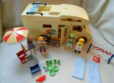 Playmobil Rv Motor Home Family Camper + accessories Geobra Travel Vacation 2005